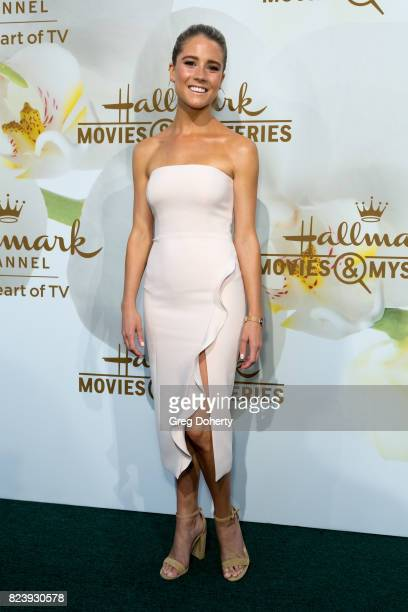 Actress Cassidy Gifford arrives for the 2017 Summer TCA Tour Hallmark Channel And Hallmark Movies And Mysteries on July 27 2017 in Beverly Hills...