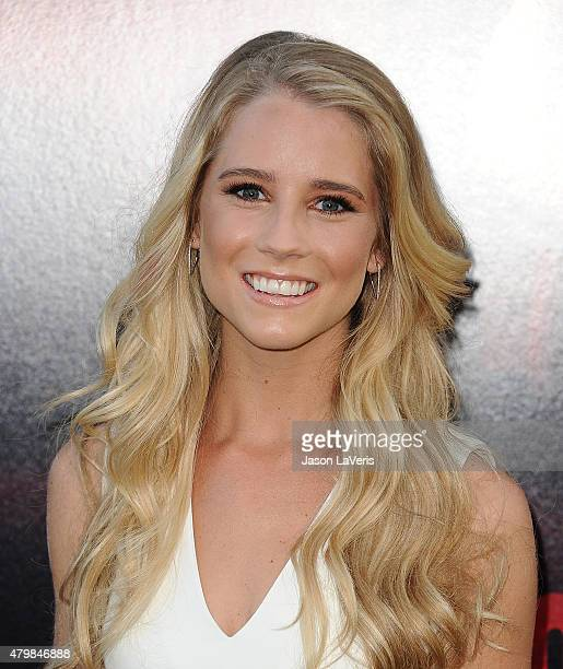 Actress Cassidy Gifford attends the premiere of The Gallows at Hollywood High School on July 7 2015 in Los Angeles California