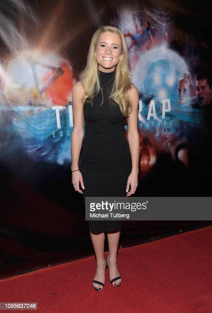 Actress Cassidy Gifford attends the premiere of Time Trap at the Hollywood Film Festival at TCL Chinese 6 Theatres on October 30 2018 in Hollywood...