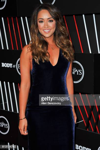 Actress Cassidy Hubbarth attends BODY At The ESPYS PreParty at Avalon Hollywood on July 11 2017 in Los Angeles California