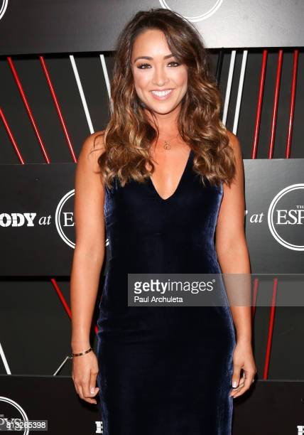 Actress Cassidy Hubbarth attends the ESPN Magazin Body Issue preESPYS party at Avalon Hollywood on July 11 2017 in Los Angeles California