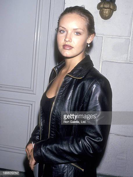 Actress Cassidy Rae attends The Basketball Diaries Westwood Premiere on April 19 1995 at Mann Festival Theatre in Westwood California