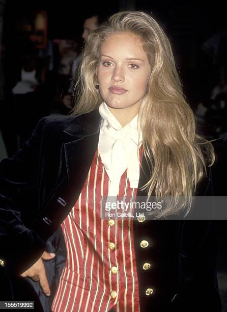 Actress Cassidy Rae attends the Fashion Show and Party to Introduce FOX's New Show Models Inc on June 24 1994 at Renaissance Club in Santa Monica...