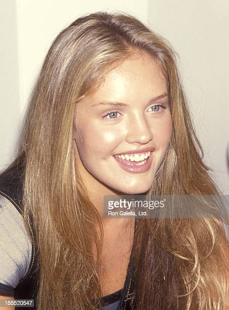 Actress Cassidy Rae attends the InStore Appearance by Cast of Models Inc on August 13 1994 at Sawgrass Mills Mall in Fort Lauderdale Florida