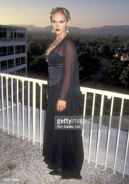 Actress Cassidy Rae attends the Multicultural Motion Picture Association's Second Annual Diversity Awards on September 20 1994 at Beverly Hilton...