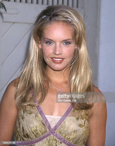 Actress Cassidy Rae attends the WB Network Summer TCA Press Tour on July 25 1998 at Twins Palms Restaurant in Pasadena California