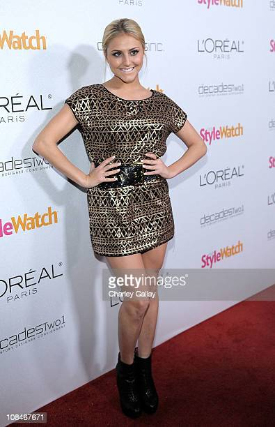 Actress Cassie Scerbo arrives to 'A Night Of Red Carpet Style' hosted by People StyleWatch at Decades on January 27, 2011 in Los Angeles, California.