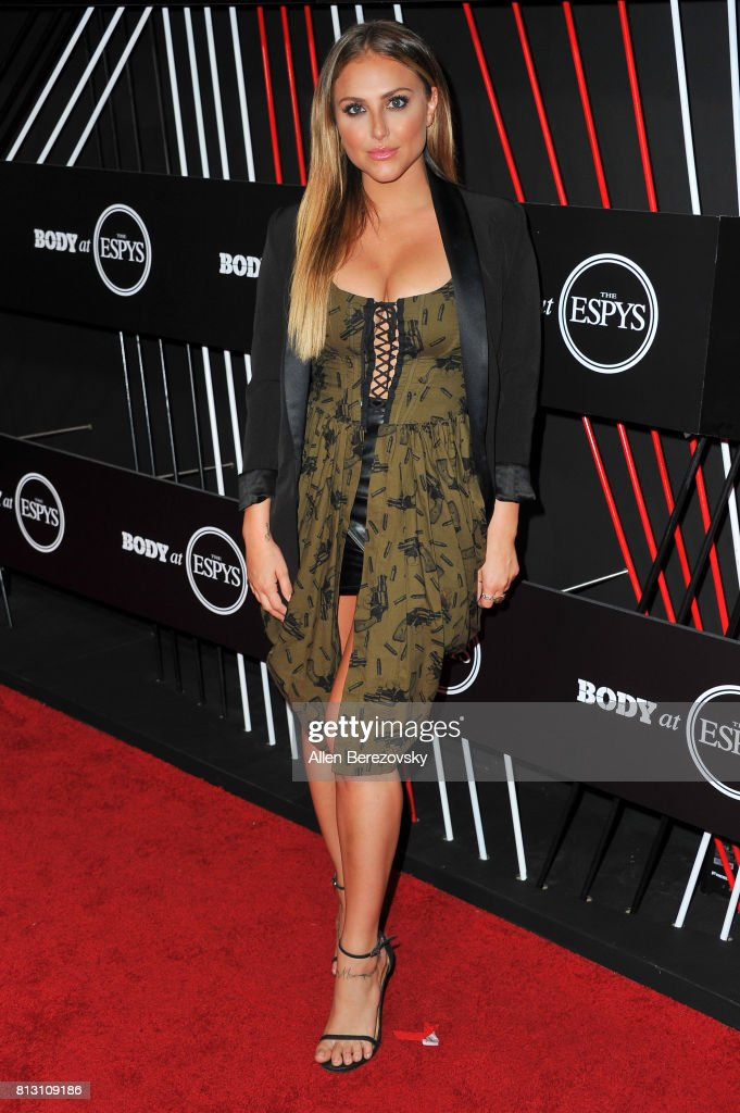 Actress Cassie Scerbo attends BODY At The ESPYS Pre-Party at Avalon Hollywood on July 11, 2017 in Los Angeles, California.