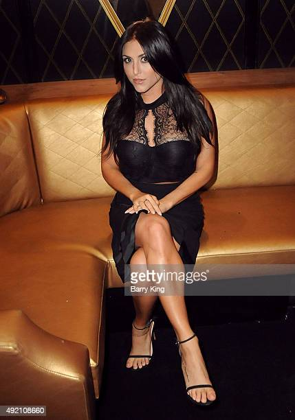 Actress Cassie Scerbo attends Boo2Bullying Benefit to support art therapy outreach programs hosted by Cassie Scerbo held at Bootsy Bellows on October...