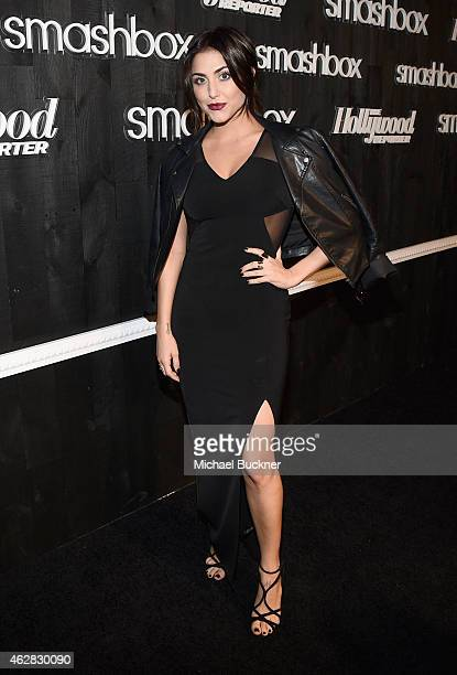 Actress Cassie Scerbo attends Smashbox Studios Celebrates Grand ReOpening at Smashbox Studios on February 5 2015 in Culver City California