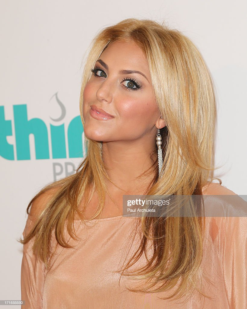 Actress Cassie Scerbo attends the 4th annual Thirst Gala at The Beverly Hilton Hotel on June 25, 2013 in Beverly Hills, California.