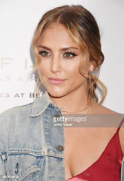 Actress Cassie Scerbo attends the BELLA Los Angeles Summer Issue Cover Launch Party at Sofitel Los Angeles At Beverly Hills on June 23 2017 in Los...