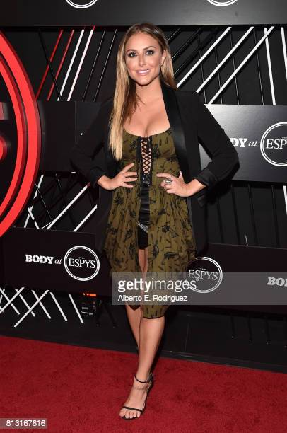 Actress Cassie Scerbo attends the BODY at The EPYS PreParty at Avalon Hollywood on July 11 2017 in Los Angeles California