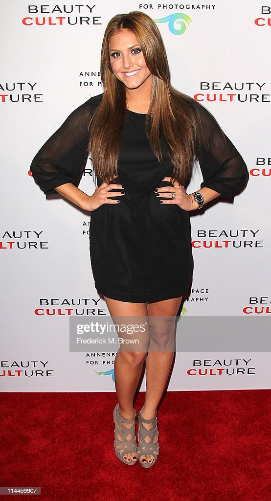 Actress Cassie Scerbo attends the Opening Night of 'Beauty Culture' at The Annenberg Space For Photography on May 19, 2011 in Century City, California.
