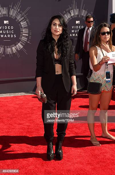 Actress Cassie Steele attends the 2014 MTV Video Music Awards at The Forum on August 24 2014 in Inglewood California