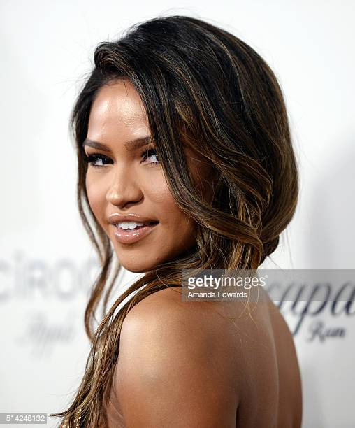 Actress Cassie Ventura arrives at the premiere of Lionsgate's 'The Perfect Match' at ArcLight Hollywood on March 7 2016 in Hollywood California