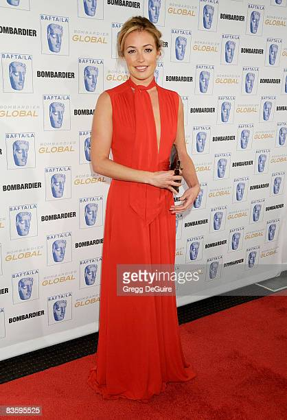 Actress Cat Deeley arrives at the 17th Annual BAFTA/LA Britannia Awards at the Hyatt Regency Century Plaza Hotel on November 6 2008 in Century City...