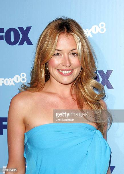 Actress Cat Deeley arrives at the 2008 FOX UpFront at Wollman Rink in Central Park on May 15 2008 in New York City