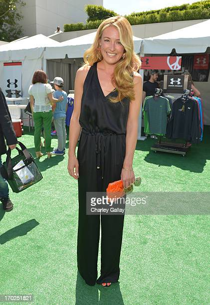 Actress Cat Deeley attends the 1st Annual Children Mending Hearts Style Sunday on June 9 2013 in Beverly Hills California