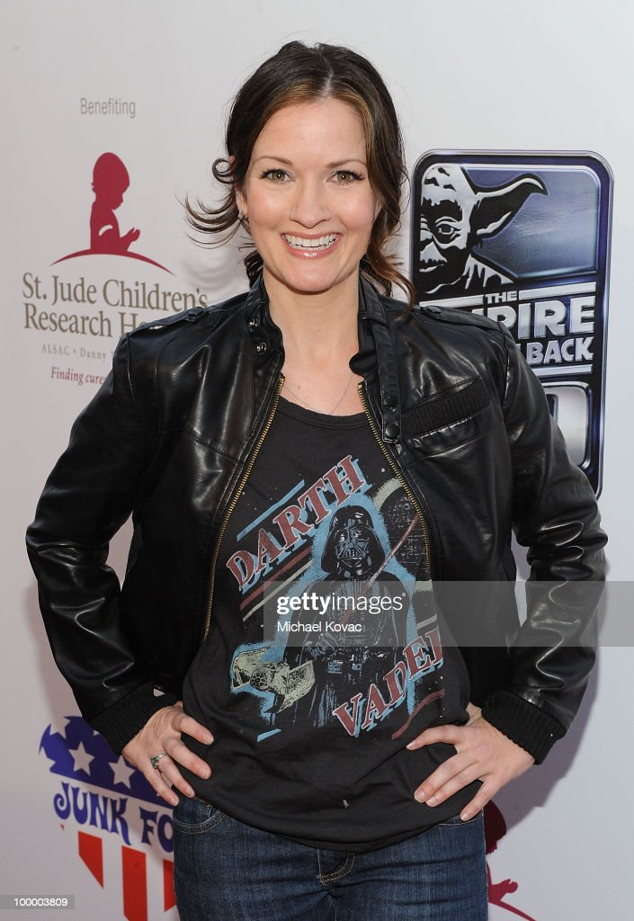 Actress Cat Taber arrives at 'The Empire Strikes Back' 30th Anniversary Charity Screening Event at ArcLight Cinemas on May 19, 2010 in Hollywood, California.