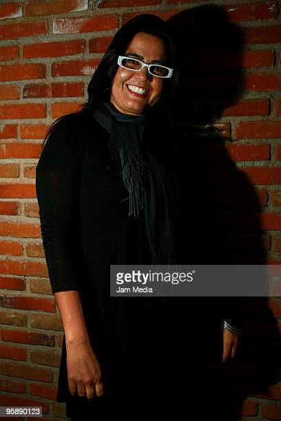 Actress Catalina Lopez poses during a press conference to present the movie 'Fecha de Caducidad' at the Sala Luis Bunuel of the Center of...