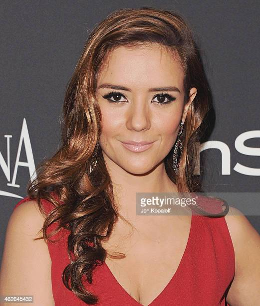 Actress Catalina Sandino Moreno arrives at the 16th Annual Warner Bros And InStyle PostGolden Globe Party at The Beverly Hilton Hotel on January 11...