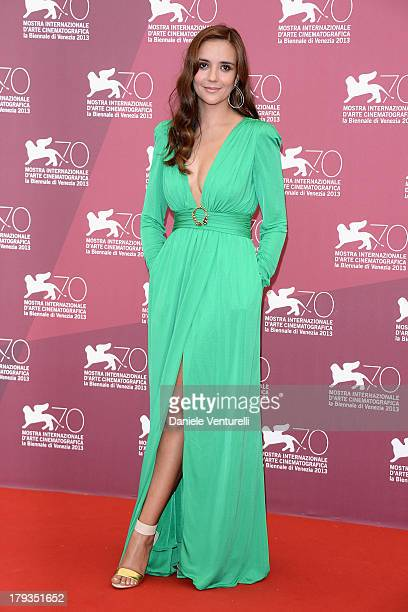 Actress Catalina Sandino Moreno attends Medeas Photocall during the 70th Venice International Film Festival at Palazzo del Casino on September 2 2013...