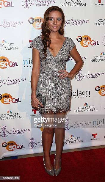 Actress Catalina Sandino Moreno attends the 29th Annual Imagen Awards at the Beverly Hilton Hotel on August 1 2014 in Beverly Hills California