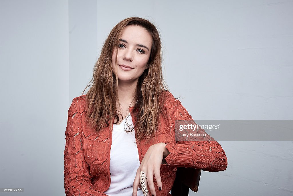 Actress Catalina Sandino Moreno from 'Custody' poses at the Tribeca Film Festival Getty Images Studio on April 17, 2016 in New York City.