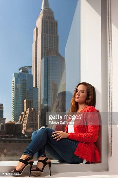 Actress Catalina Sandino Moreno is photographed for Vanity Faircom on April 19 2016 in New York City