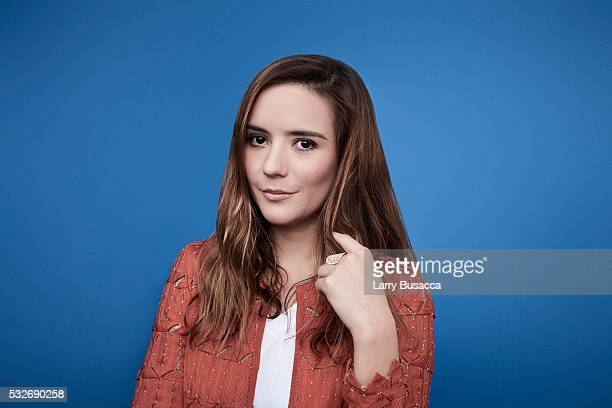 Actress Catalina Sandino Moreno poses for a portrait at the Tribeca Film Festival on April 17 2016 in New York City