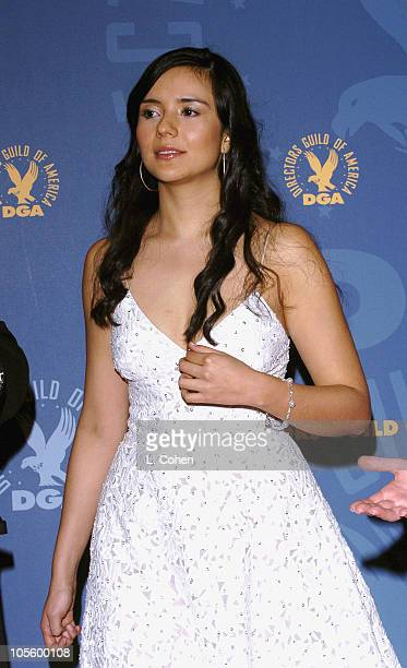 Actress Catalina Sandino Moreno presenter of Outstanding Directorial Achievement in Commercials award