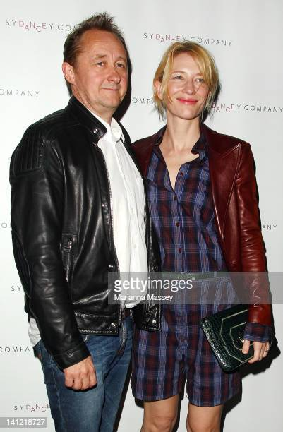 Actress Cate Blanchett and her husband Andrew Upton attend the Sydney Dance Company's 2 One Another opening night at Sydney Theatre on March 13 2012...