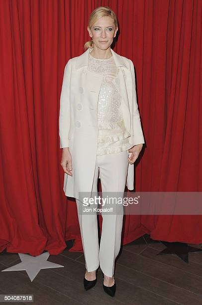 Actress Cate Blanchett arrives at the 16th Annual AFI Awards on January 8 2016 in Los Angeles California