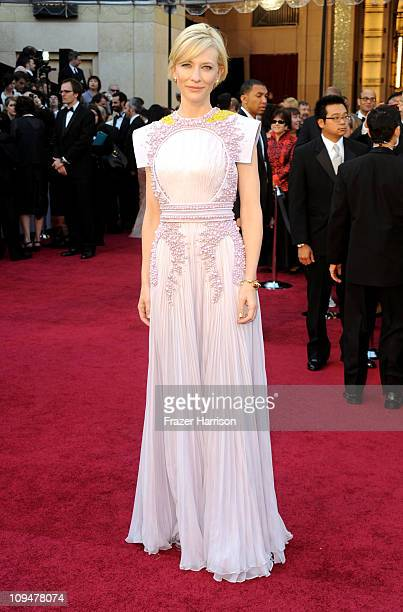 Actress Cate Blanchett arrives at the 83rd Annual Academy Awards held at the Kodak Theatre on February 27 2011 in Hollywood California