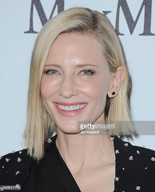 Actress Cate Blanchett arrives at Women In Film 2016 Crystal Lucy Awards Presented By Max Mara And BMW at The Beverly Hilton Hotel on June 15 2016 in...