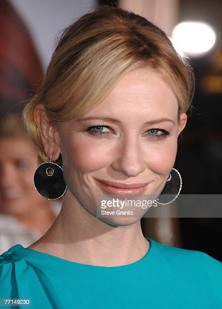Actress Cate Blanchett arrives to the premiere of Elizabeth The Golden Age at Universal City Walk on October 1 2007 in Universal City California
