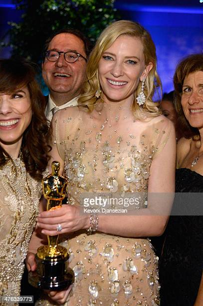 Actress Cate Blanchett attend the Oscars Governors Ball at Hollywood Highland Center on March 2 2014 in Hollywood California