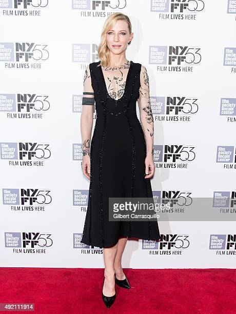 Actress Cate Blanchett attends 53rd New York Film Festival 'Carol' at Alice Tully Hall on October 9 2015 in New York City