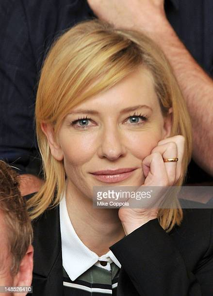 Actress Cate Blanchett attends the 2012 Lincoln Center Festival Uncle Vanya Cast Photo Call at New York City Center on July 18 2012 in New York City
