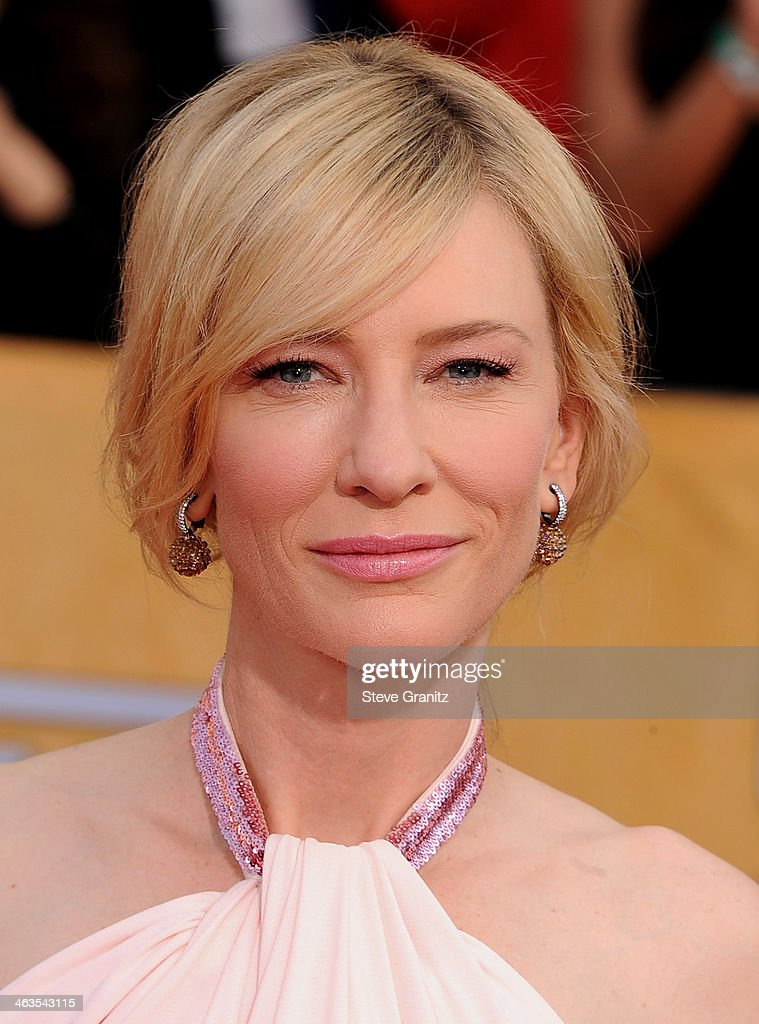 Actress Cate Blanchett attends the 20th Annual Screen Actors Guild Awards at The Shrine Auditorium on January 18, 2014 in Los Angeles, California.