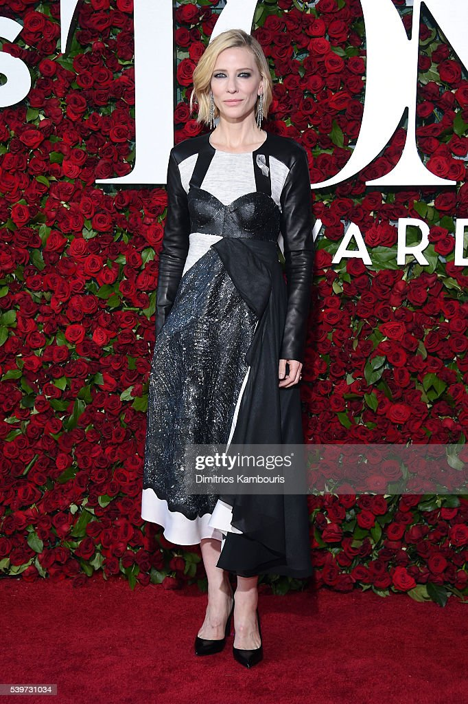 Actress Cate Blanchett attends the 70th Annual Tony Awards at The Beacon Theatre on June 12, 2016 in New York City.