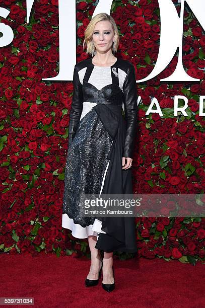 Actress Cate Blanchett attends the 70th Annual Tony Awards at The Beacon Theatre on June 12 2016 in New York City
