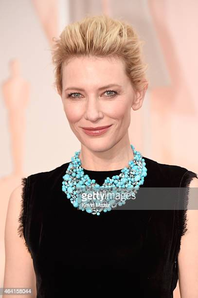 Actress Cate Blanchett attends the 87th Annual Academy Awards at Hollywood & Highland Center on February 22, 2015 in Hollywood, California.