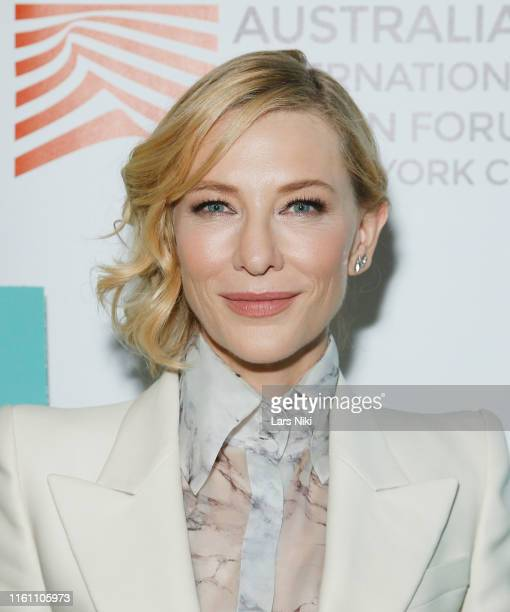 "Actress Cate Blanchett attends The Austin Film Society and Australian International Screen Forum ""Where'd You Go, Bernadette"" private dinner at..."