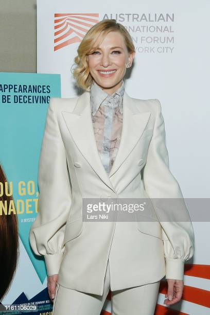 Actress Cate Blanchett attends The Austin Film Society and Australian International Screen Forum Where'd You Go Bernadette private dinner at Lincoln...
