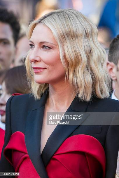 Actress Cate Blanchett attends the Closing Ceremony screening of 'The Man Who Killed Don Quixote' during the 71st annual Cannes Film Festival at...