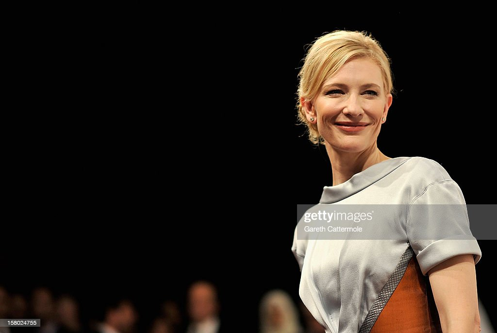 Actress Cate Blanchett attends the 'Life of PI' Opening Gala during day one of the 9th Annual Dubai International Film Festival held at the Madinat Jumeriah Complex on December 9, 2012 in Dubai, United Arab Emirates.