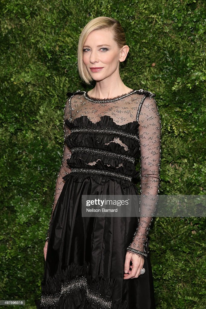 Actress Cate Blanchett attends the Museum of Modern Art's 8th Annual Film Benefit Honoring Cate Blanchett at Museum of Modern Art on November 17, 2015 in New York City.