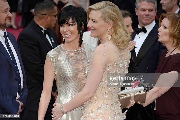 Actress Cate Blanchett attends the Oscars held at Hollywood Highland Center on March 2 2014 in Hollywood California
